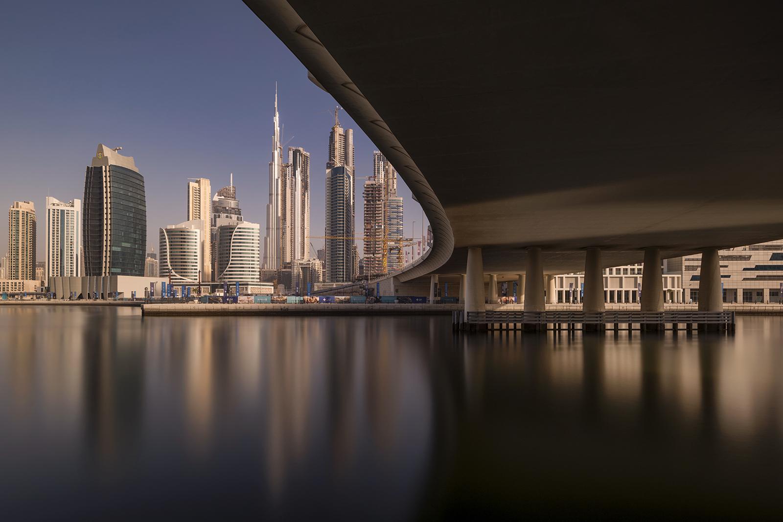 Burj Khalifa from business bay