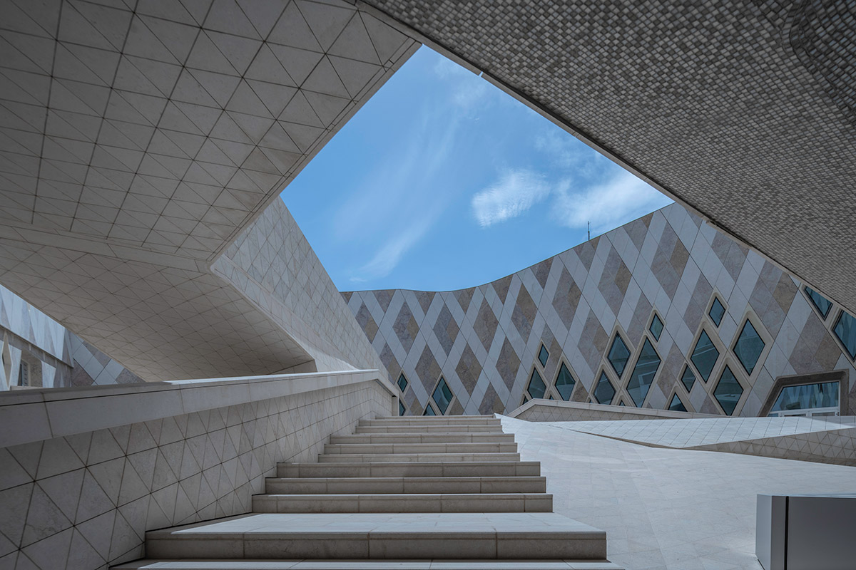 Sheikh Zayed Leaning Centre