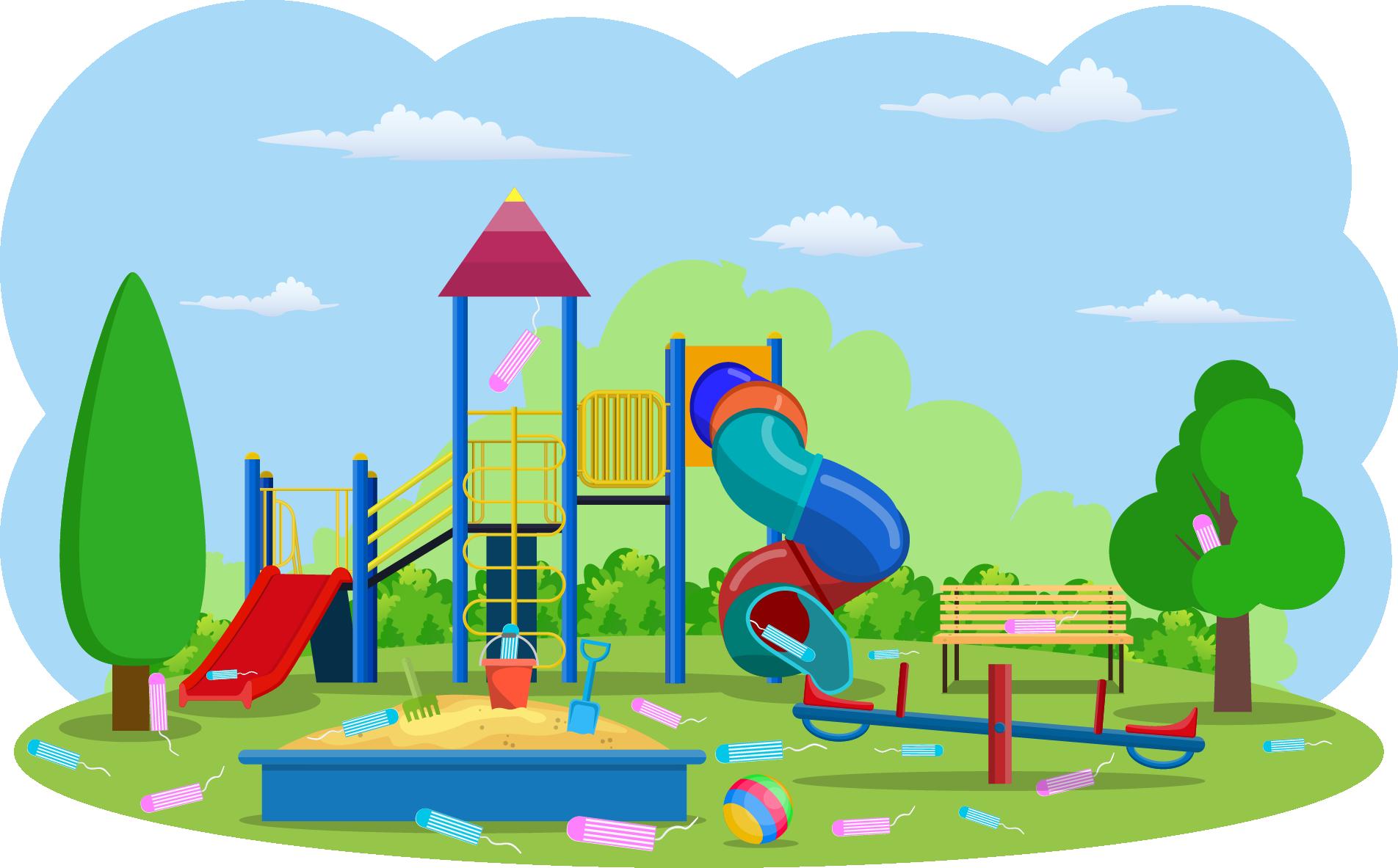 Figur 2: Er det en sammenheng mellom jobb i barnehage og tampongforbruk? I statistikk kaller vi falske sammenhenger for spuriøse sammenhenger.