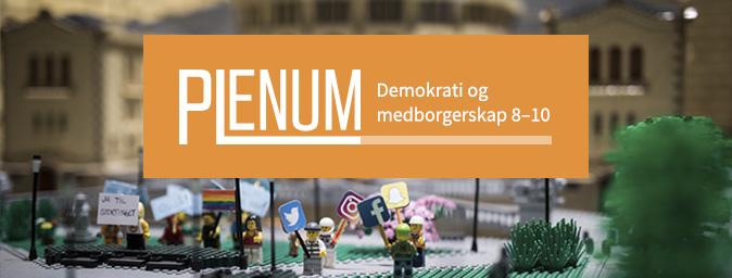 Plenum - Plenum er et digitalt læremiddel for samfunnsfag på ungdomstrinnet. Læremiddelet legger til rette for en moderne og variert undervisning som gir elevene redskapene og motivasjonen de trenger for å bli aktive medborgere.Plenum er gratis, men krever innlogging. Kontakt digitalt@fagbokforlaget.no for å få tilgang.Les mer om Plenum