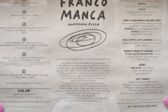 FRANCO MANCA at Covent Garden & Bermondsey for amazing organic produce pizzas
