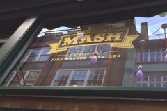 MOTHER MASH at Oxford Circus for some British Mash potatoes and pies