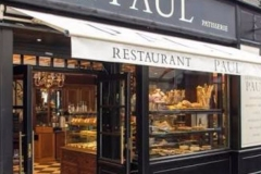 PAUL Cafe and Bakery, everywhere for amazing breakfast