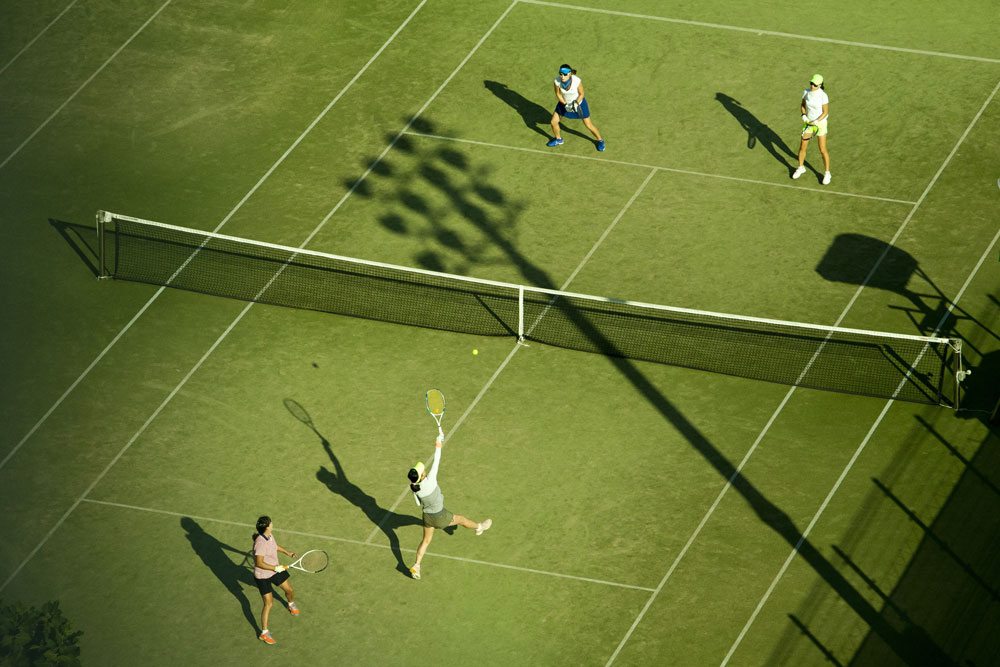 Tennisles Amsterdam - Tennisschool Amsterdam