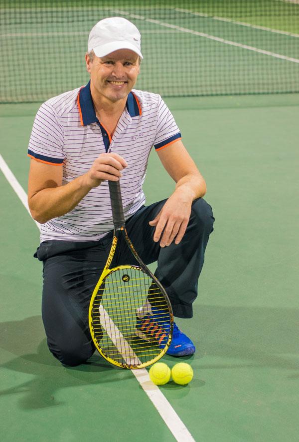 Paul van Helvert Tennisschool Amsterdam