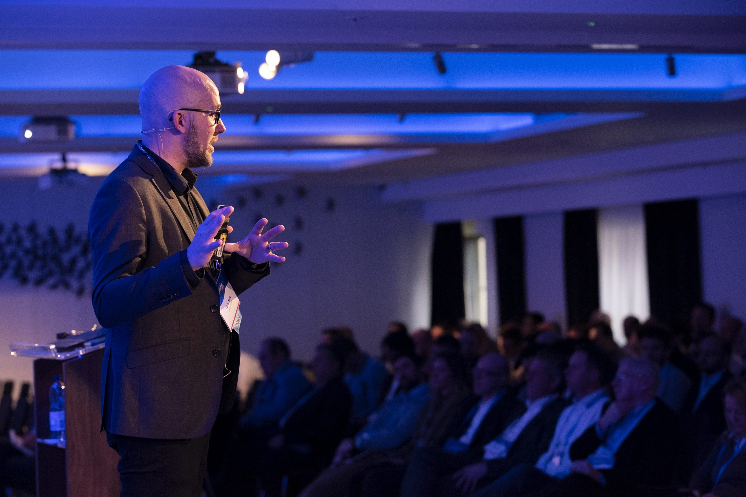 Speaking - Learn about digital transformation, the future of work, design as a strategy, and how to create superpowering experiences