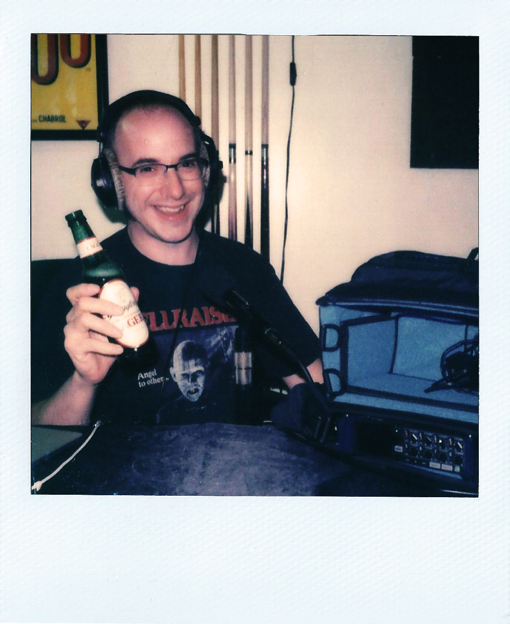 JUST AL - Is his name Al? We're not sure, but what we do know is that he is a product of 80's slasher films and heavy metal. Since he's not quite Gen X and not quite Millennial, he considers himself a part of the Oregon Trail micro-generation. (He played Oregon Trail on the Mac II in school.) Al is a sound enthusiast and is the recordist for the show.