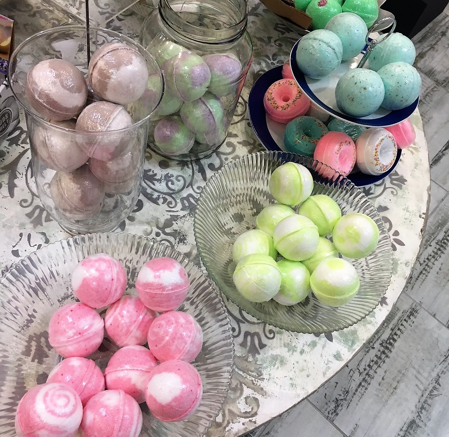 Various Bath Bombs