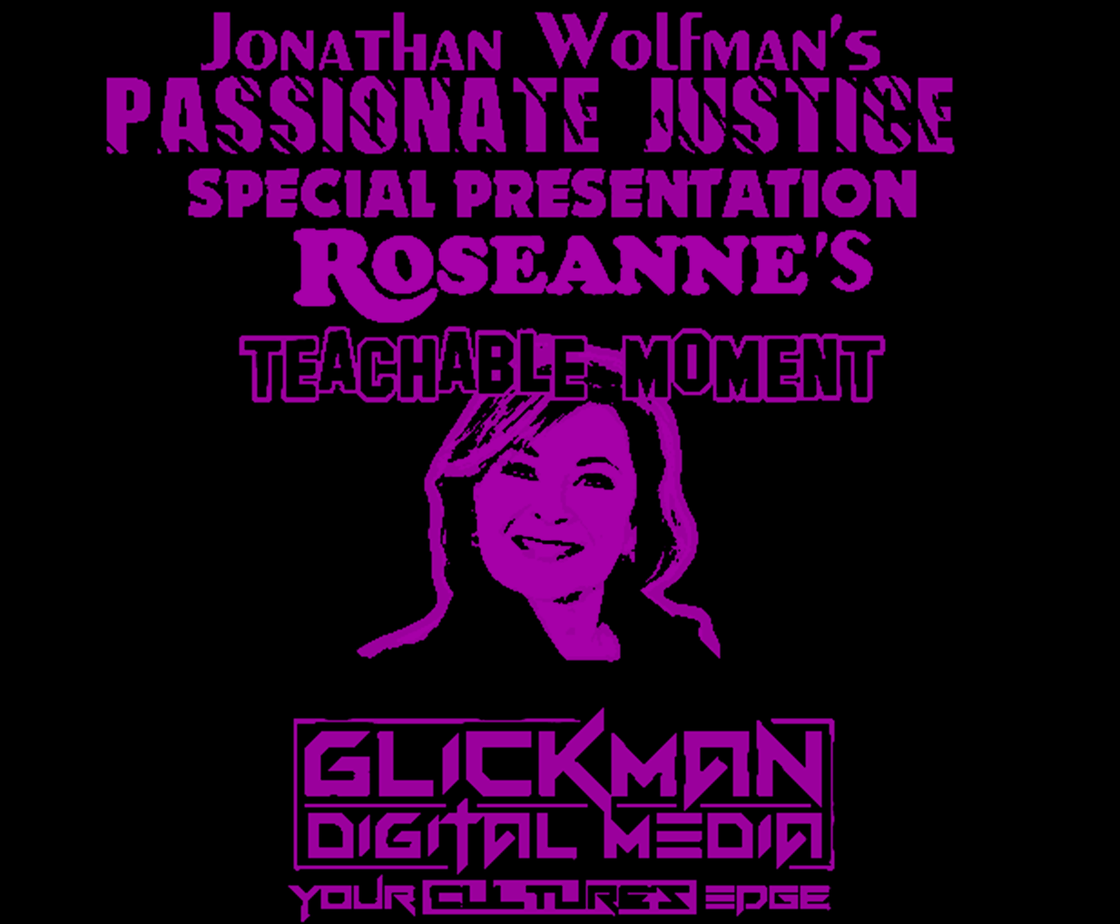 Roseanne Teachable Moment pink poster.png