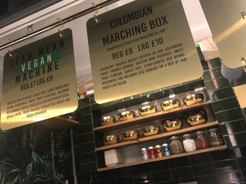 Maize Blaze Columbian Food Kiosk — FREE FORM ID