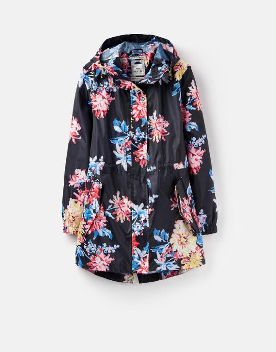 JULES - This gorgeous Golightly jacket from Joules comes in this lovely floral pattern and there are other patterns and colours to choose from with matching wellies too, making you water tight for the worst of the English weather.