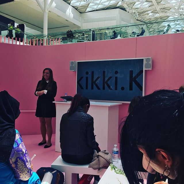 Enjoying the @kikki.k mindfulness workshop @westfieldlondon  #mindfulness #selfcare  #journaling #westfieldwhitecity #stylistlondon #healthcoachlondon #kikkik