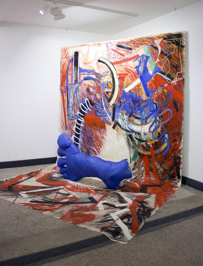 """Ausstellungsansicht """"Atelier Emozioni"""" Galerie Feinkunst Krüger, Hamburg, 2013"""