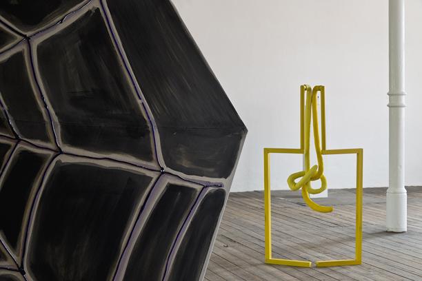 """Ausstellungsansicht """"Stein in my Mind"""" Arthur Boskamp Stiftung, 2014 Foto: Michael Pfisterer"""