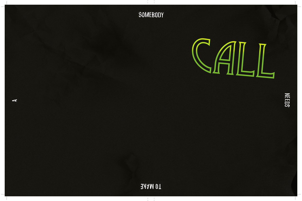 Cover Publikation CALL, Somebody needs to make a Call, 2014