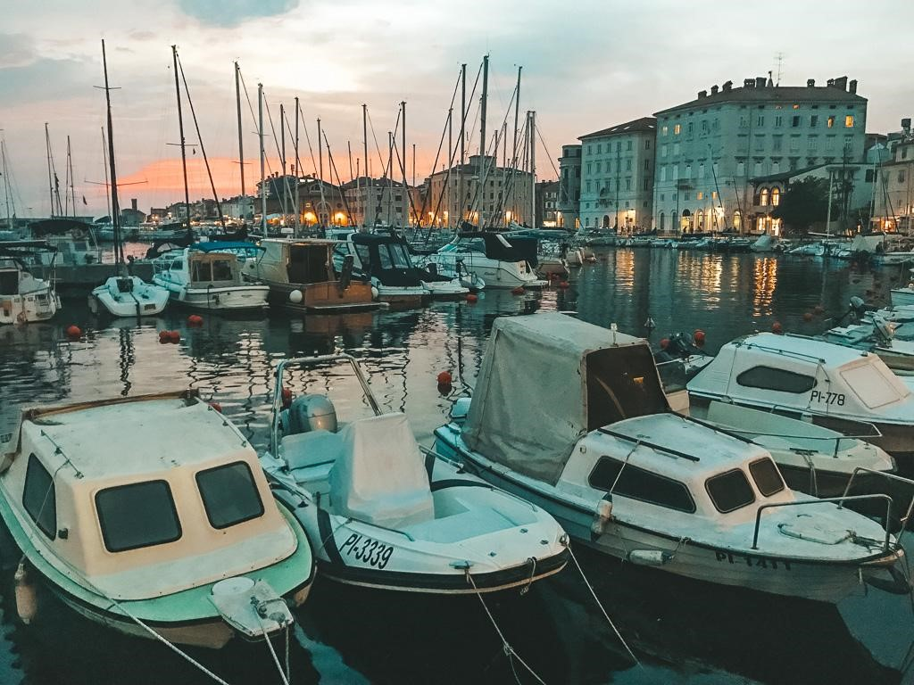 Piran is a small resort town with cute medieval streets and a strong Italian influence