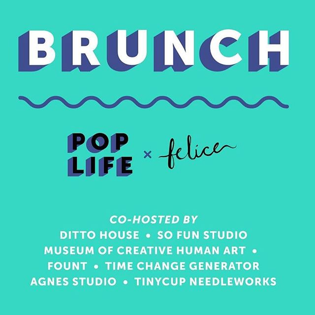 The next Pop Life Brunch @feliceurbancafe is June 2nd! @poplifeuniverse Brunch is a fun and informal event for artists, creatives, and small business owners to get to meet one another! Pop Life and Felice aim to foster community, collaboration, and creativity!! Come make connections with fellow artists and entrepreneurs, spark new ideas, and find ways to collaborate with other creatives in Cleveland. The event will feature a DJ, astrology readings, and art supplies for those who'd like to paint or draw. Tickets are $20 and include a buffet-style brunch & unlimited coffee. Smoothies, CBD tonics, beer, wine, craft cocktails and juice from @ritualjuicery will be available to purchase. @sofunstudio is happy to co-host along with @fount, @dittohouse, @museumofcreativehumanart, @agnesstudio, @tinycup_ & @timechangegenerator :) Link for tickets on @poplifeuniverse profile!! Hope you get a ticket so we can see you there!!! 🌈🌈🍉🌞
