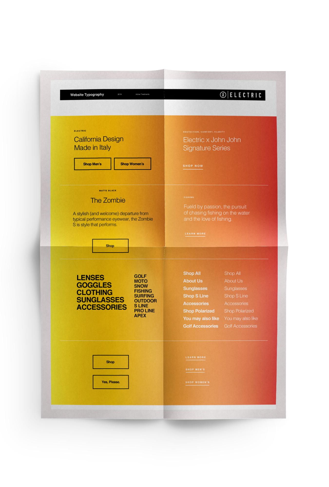 Website Typography Design
