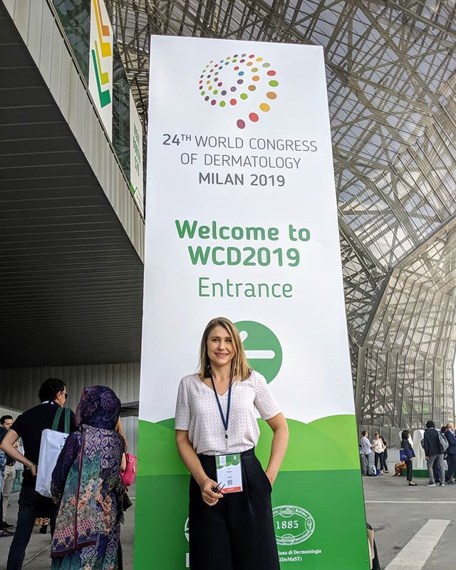 Conference week! Dr. Peters is currently in Milan, Italy attending the 24th annual World Congress of Dermatology. #wcd #dermatology #skincare #medicine #yyj