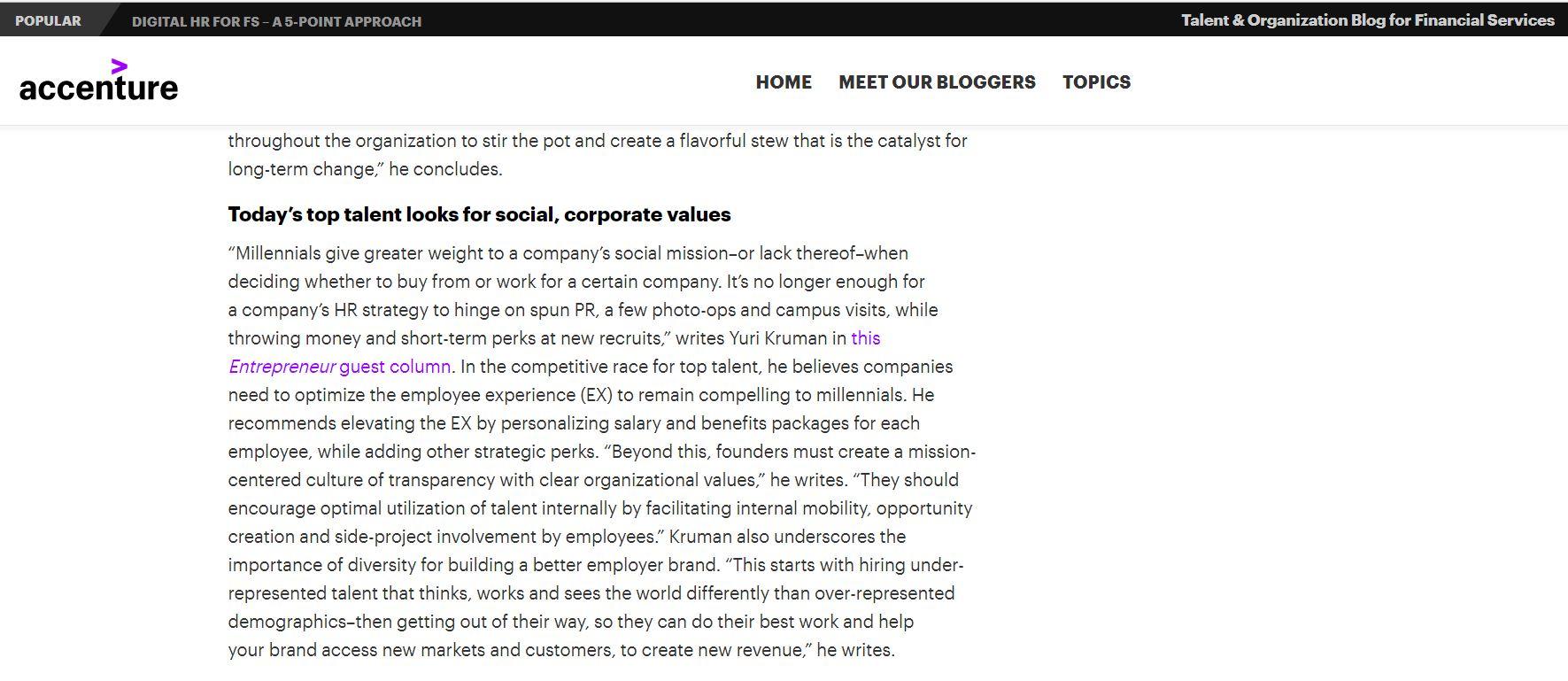 Accenture's Talent & Organizationa Blog Shout-Out.JPG