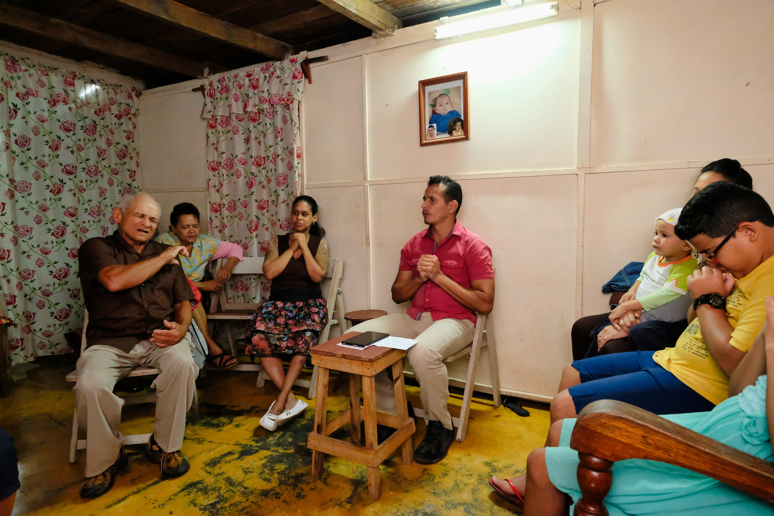 Tuesday night Deaf prayer meeting
