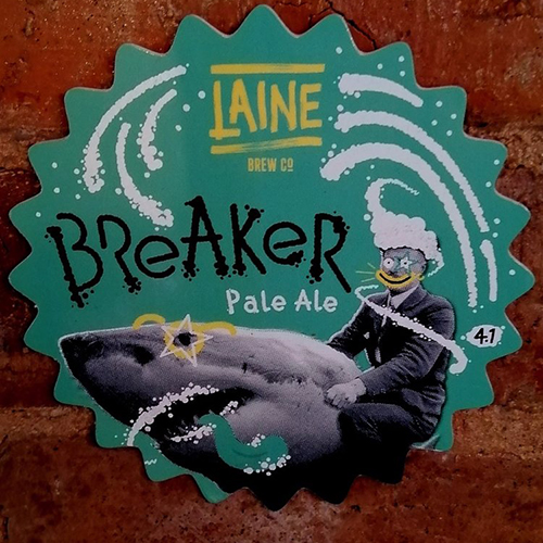 Breaker pale ale - a juicy, powerfully hopped Pale Ale that delivers fresh fruit flavours of melon, pineapple and citrus.