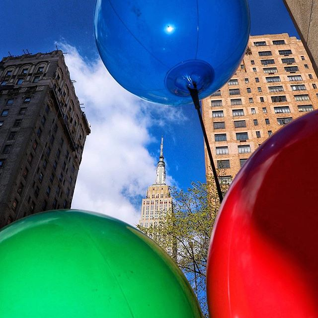 this must be the place 🗽🎈