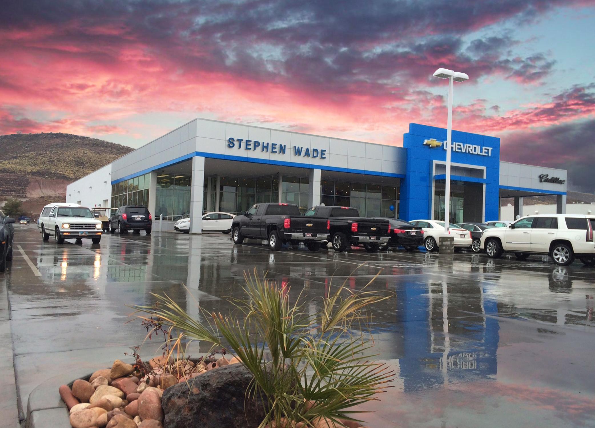 Stephen Wade Dealerships Hughes General Contractors