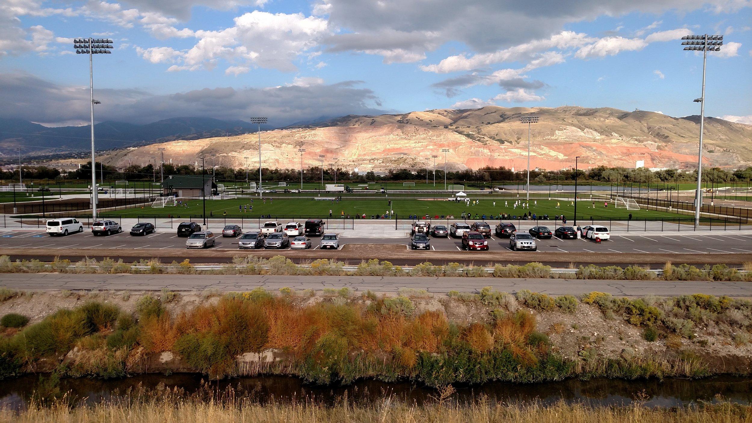 Salt Lake Regional Athletic Complex Hughes General