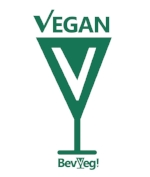 We are Certified Vegan from BevVeg