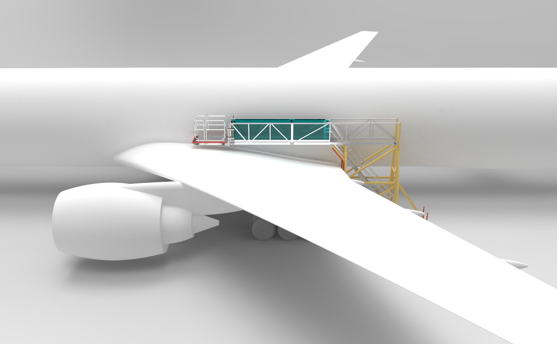 Overwing Access Projects Presentation isometric view