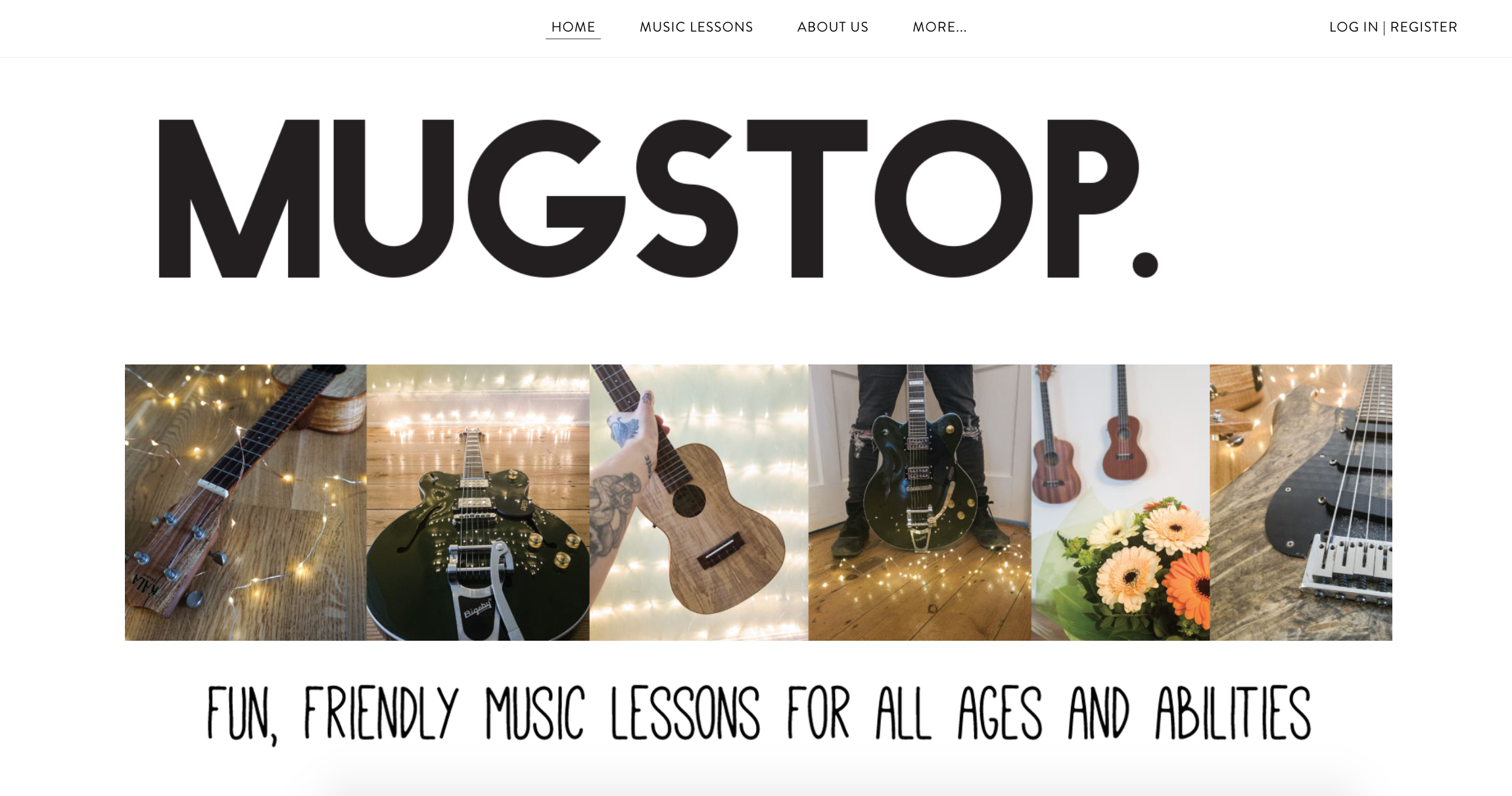 Mugstop Cafe Ukulele Course