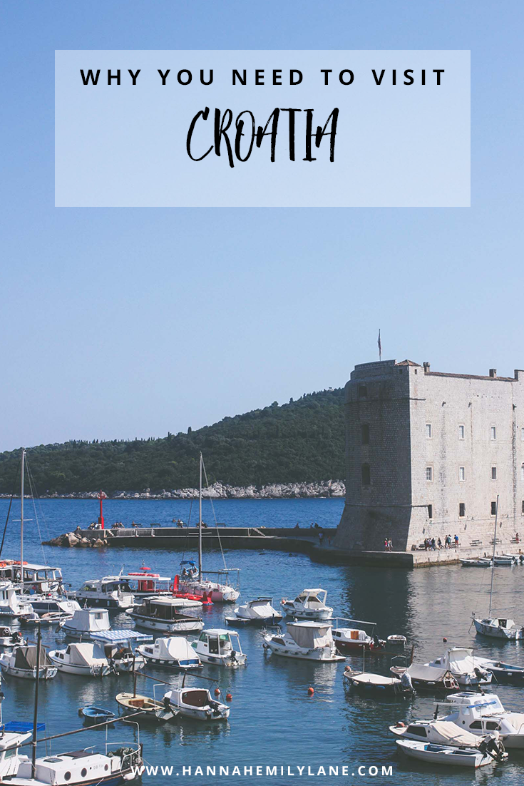 Why you should visit Croatia | www.hannahemilylane.com