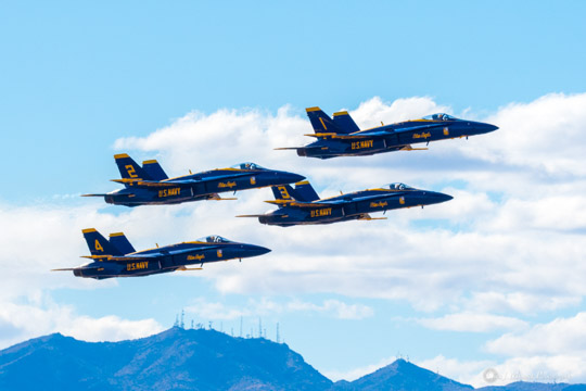 The Blue Angels -