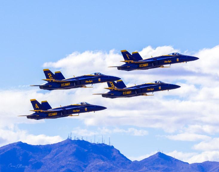Blue Angels at Luke Air Force Base, Glendale, AZ