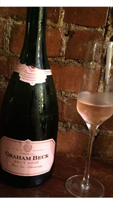 Pretty in pink: Graham Beck Brut Rosé NV looks as good as it tastes