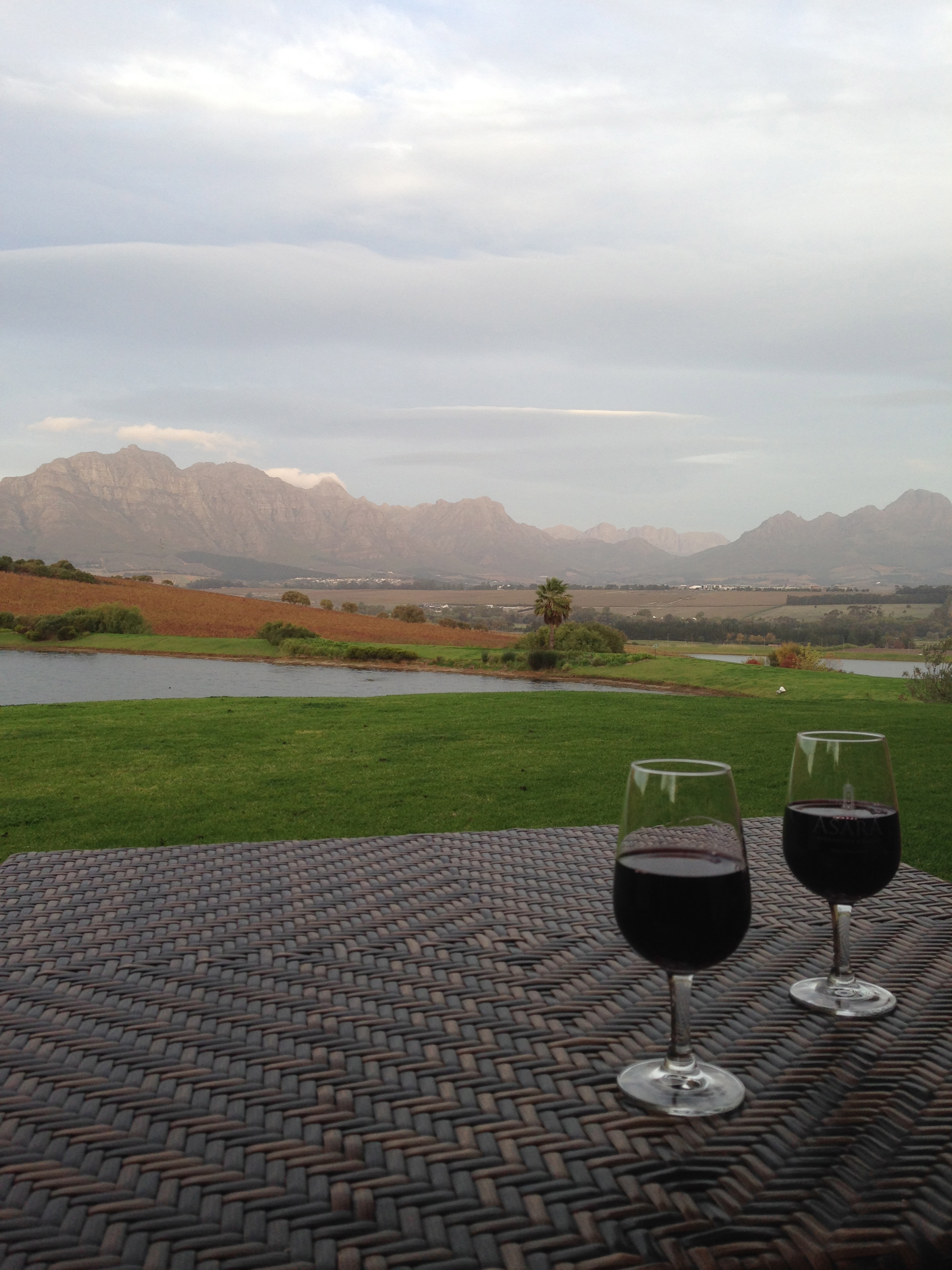 The most gorgeous winelands in the world? Quite possibly.
