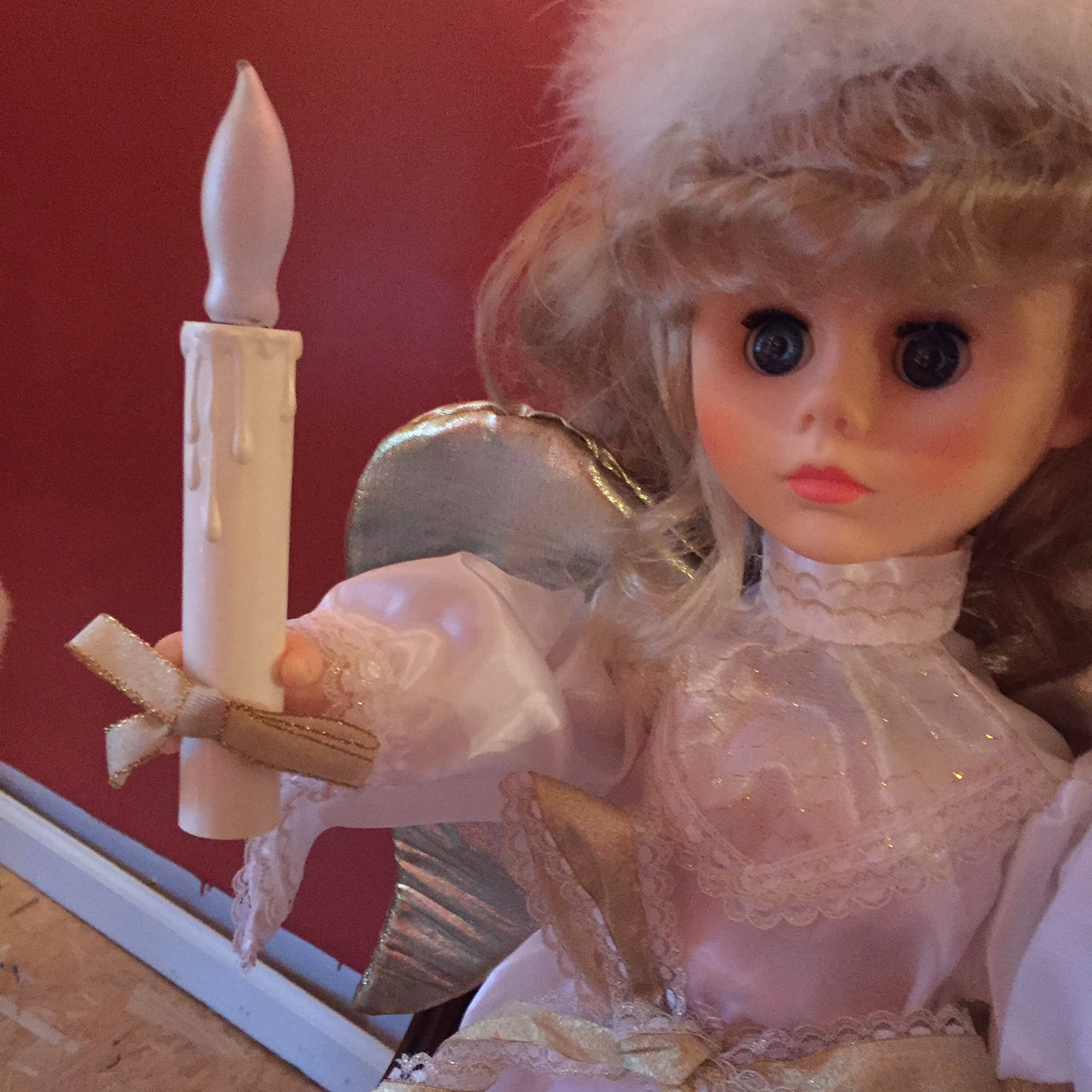 If you don't give the gift of good wine, this angel will haunt your dreams