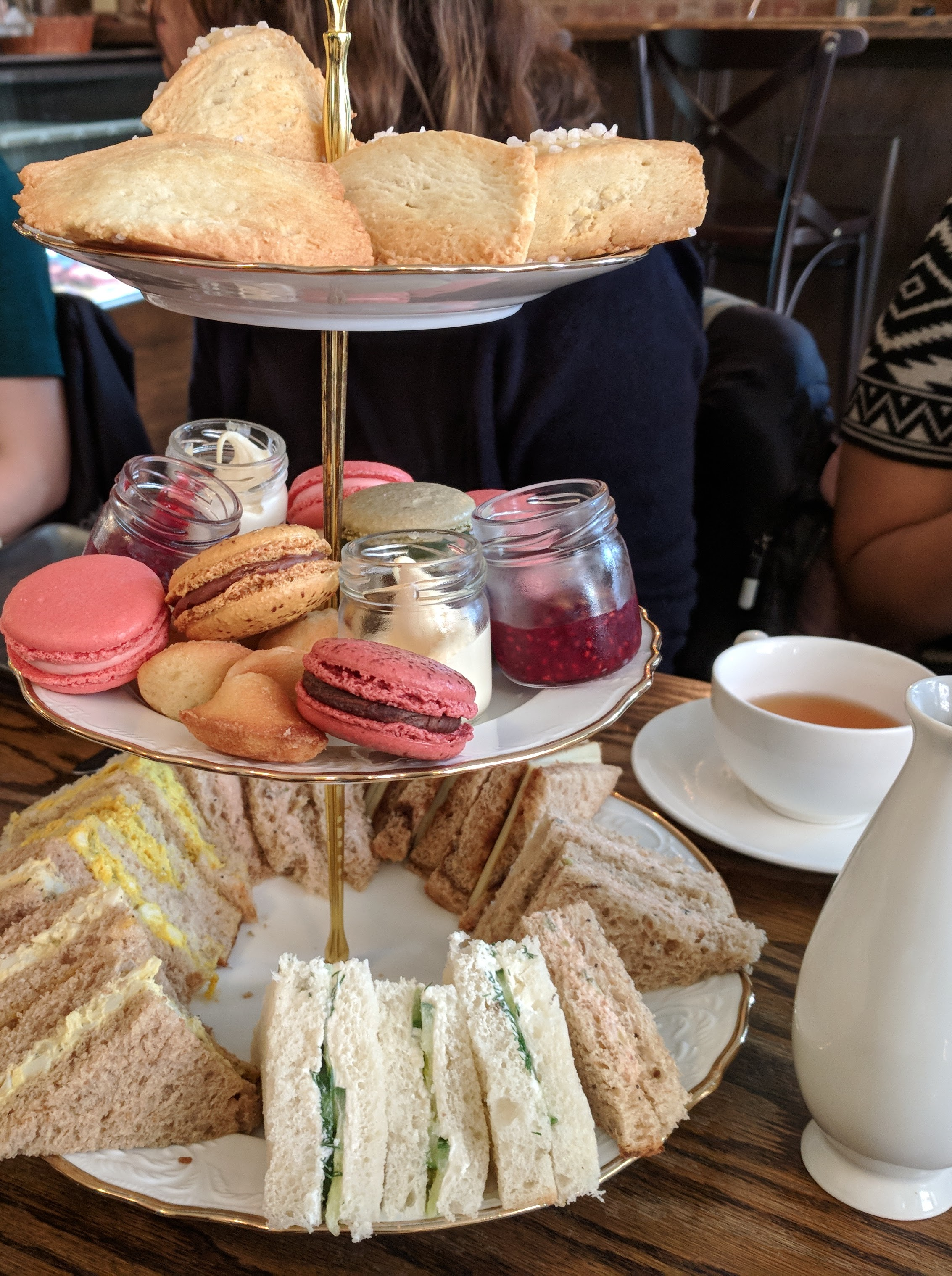 Afternoon tea. Where the best conversations happen.