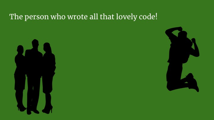 Well, obviously the person who wrote all that code! Well done Awesome Coder!