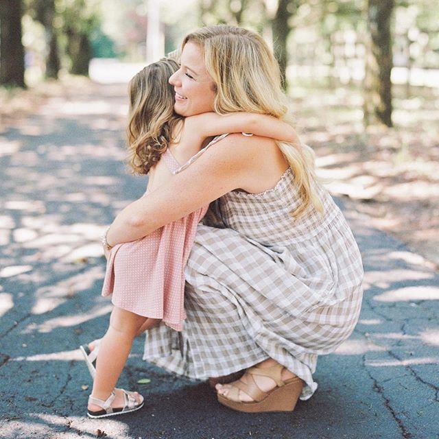Y'all I really just do not think it gets sweeter than the Davis Family. It has been such a joy to watch them grow with the addition of Miss Ellie this year, and I have loved capturing their family photos in so many stages. Be sure to check out more photos from our time together, #ontheblog tonight-just click the #linkinbio 💕 Stephanie & J.D., y'all are simply the best and those girls are the luckiest! #athomasphotography #contax645 #fuji400h #portra400