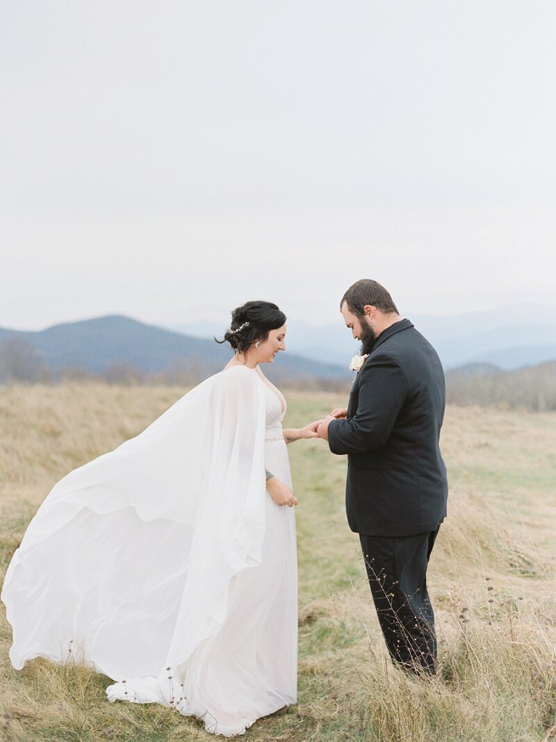 Elopement Max Patch Mountain