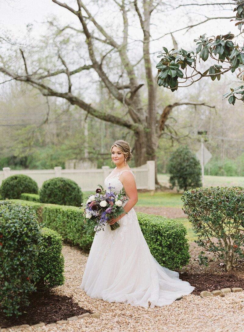 Bridal Portrait Vinewood Stables