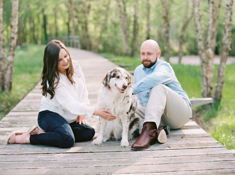 Engagement Session with Dogs Ideas