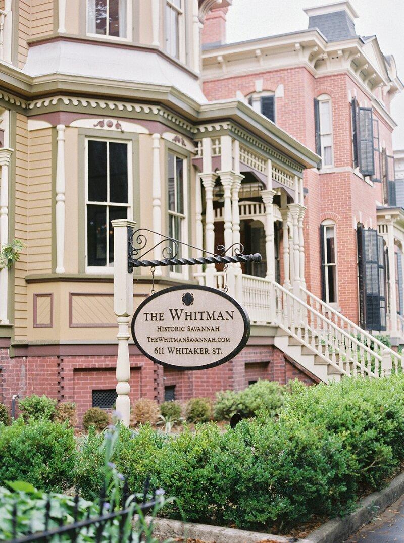 Whitman Savannah Wedding