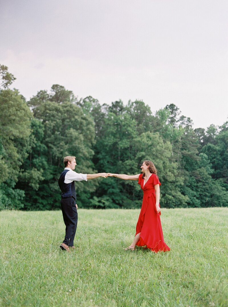 Kennesaw Mountain Engagement Session