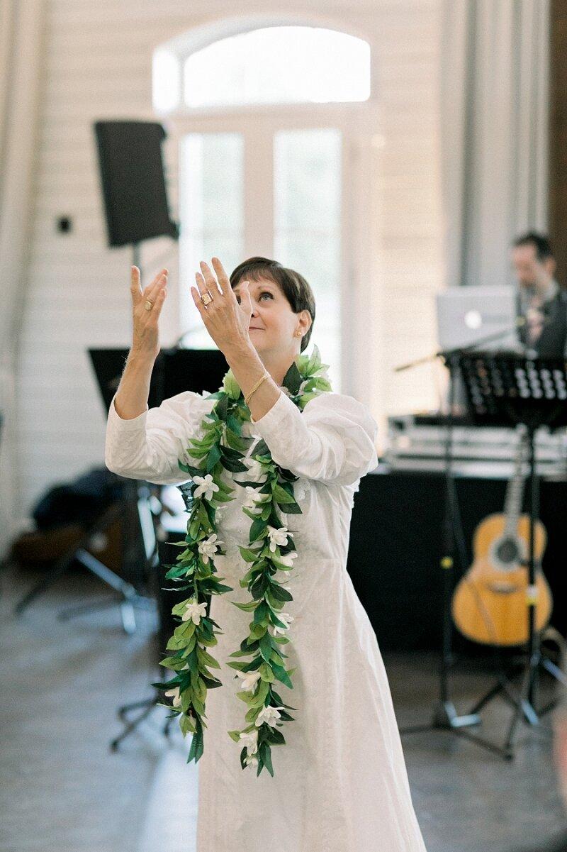 Traditional Hawaiian Wedding Hula