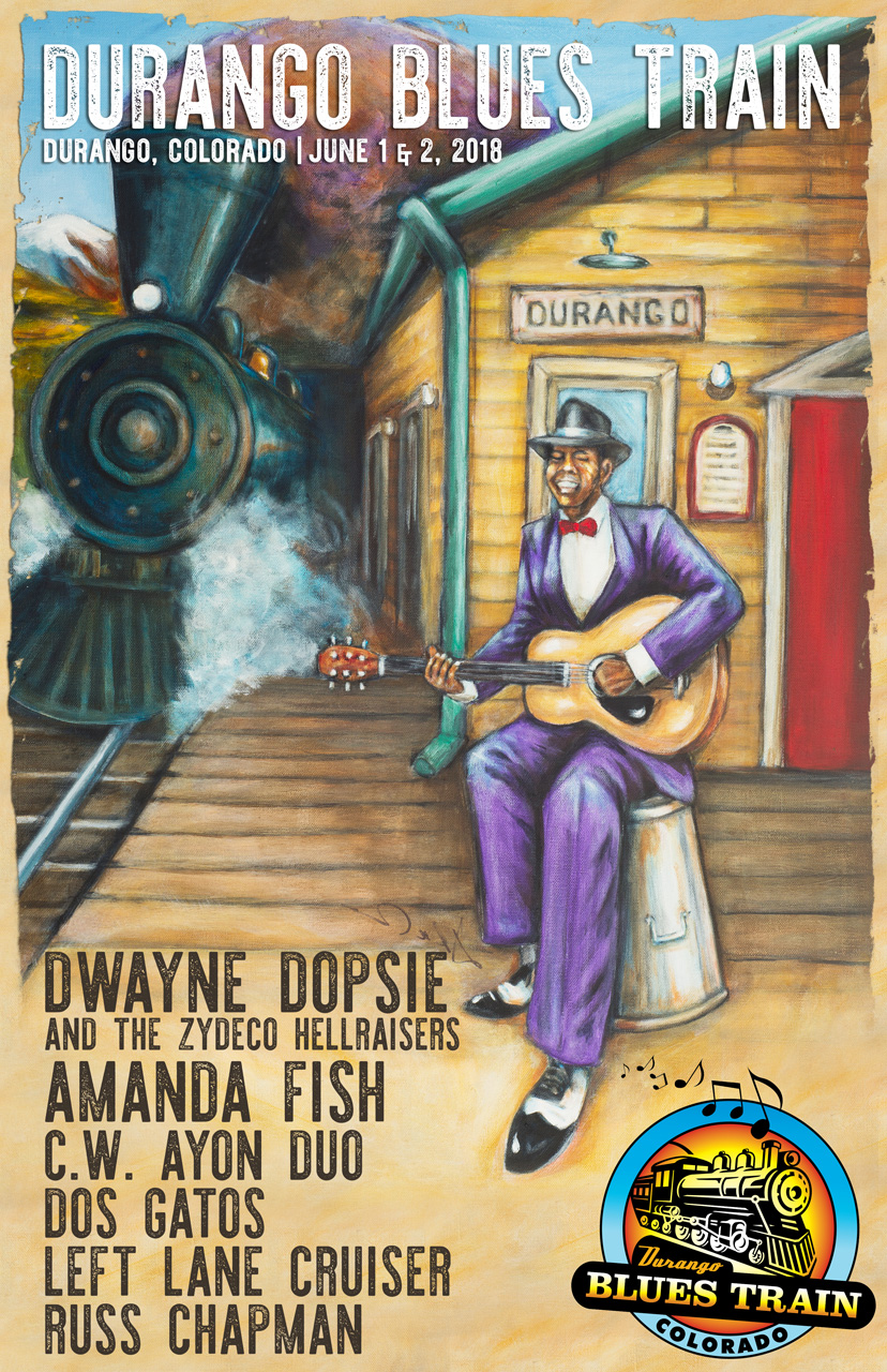 Durango Blues Train | June 2018