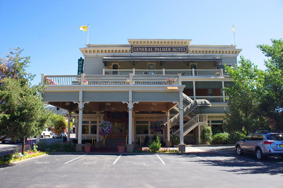 General Palmer Hotel   Durango Blues Train