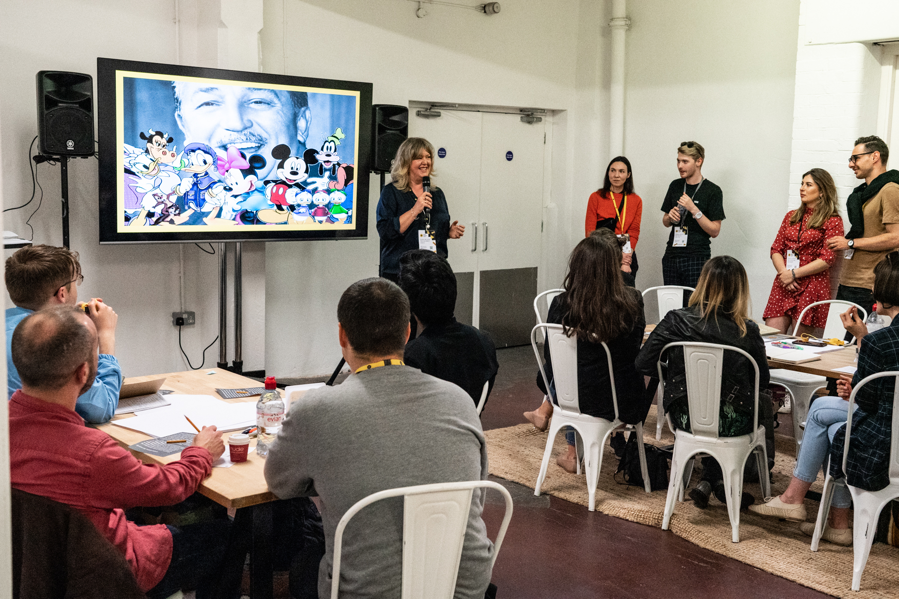 """D&AD Festival """"Powerful Presentation and Pitching Skills"""" workshop 2019"""